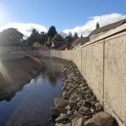 Murform, Formwork, Rebar, Concrete, Flood Defence, formwork contractor