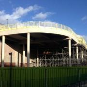 Murform, Formwork, Rebar, Concrete, ramp, formwork contractor