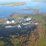 Murform, Hunterston Aerial View, formwork contractor