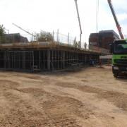 Murform, Formwork, Rebar, Concrete, Foundations, Basement, Slab, Podium, Deck, formwork contractor