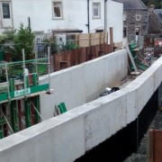 Murform, Dunfermline Flood Defence, formwork contractor