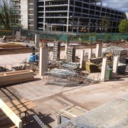 Murform, Formwork, Rebar, Concrete, Retail Park, formwork contractor