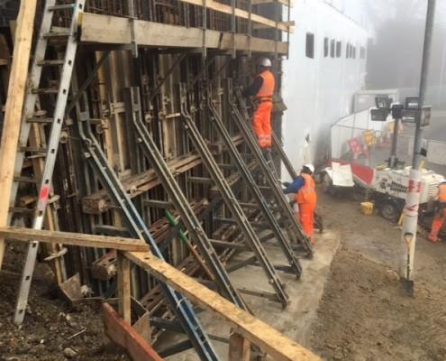 Murform, Formwork, Rebar, Concrete, Reinforced Concrete, Shuttering, Concrete in situ, formwork contractor