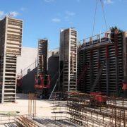 Murform, Llwyn Onn Reservoir, Rebar, Formwork, Shuttering, Formwork Contractor,