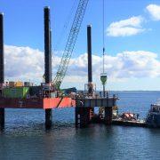 Murform, Formwork, Mooring Dolphin, Steel Fixing, Formwork Contractor, marine, offshore