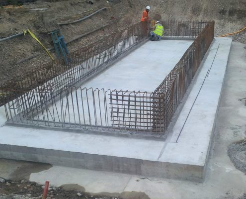 Murform, formwork, waste water treatment