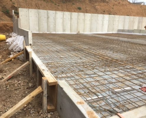 murform, formwork, concrete, steel fixing, slab,